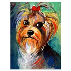 "Yorkshire Terrier #1 11x17"" Print Poster"