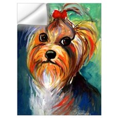 "Yorkshire Terrier #1 11x17"" Print Wall Decal"
