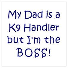 K9 Boss Poster