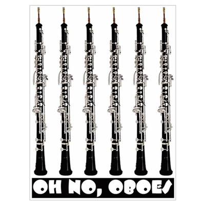 Oh No, Oboes Canvas Art