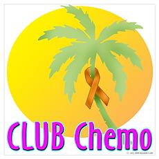 Club Chemo-Leukemia Poster