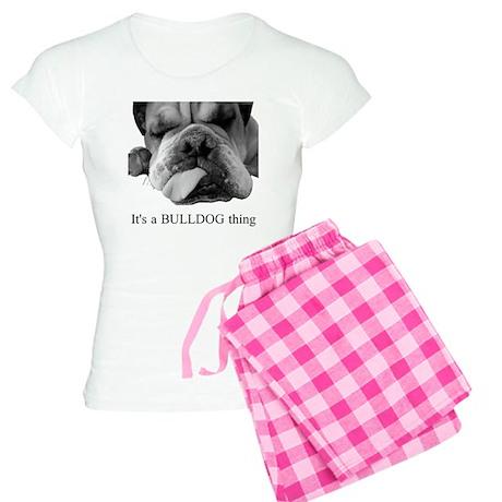 Bulldog Rescue Women's Light Pajamas