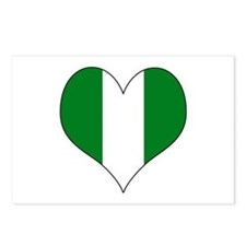 Nigeria Heart Postcards (Package of 8)