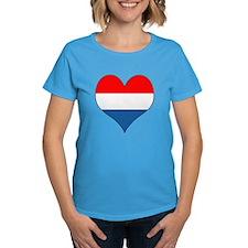 Luxembourg Heart Tee