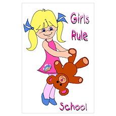 Girls Rule School Poster
