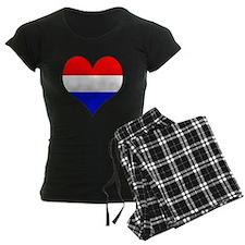 Netherlands Heart Pajamas