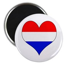 Netherlands Heart Magnet