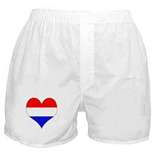 Netherlands Heart Boxer Shorts