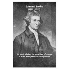 Edmund Burke Poster