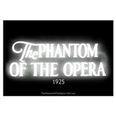 The Phantom of the Opera 1925 Canvas Art