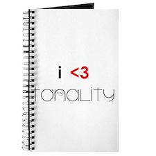 i <3 tonality Journal