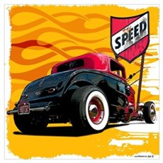 Speed '32 Coupe Poster