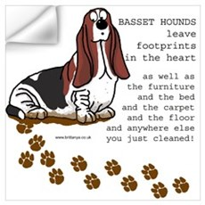 Basset's Wall Decal