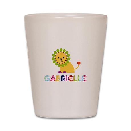 Gabrielle the Lion Shot Glass