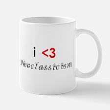 i <3 neoclassicism Mug