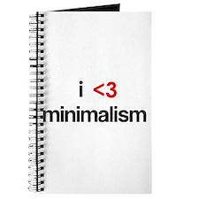 i <3 minimalism Journal