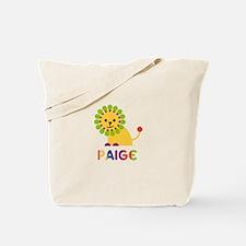 Paige the Lion Tote Bag