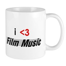 i <3 film music Mug
