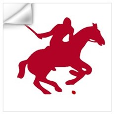 POLO PLAYER Wall Decal