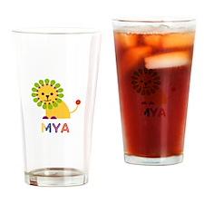 Mya the Lion Drinking Glass