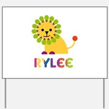 Rylee the Lion Yard Sign