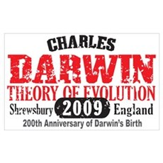 Charles Darwin Canvas Art