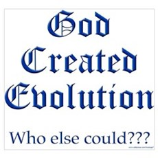 God Created Evolution #2 Poster