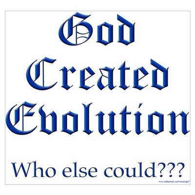 God Created Evolution #2 Poster