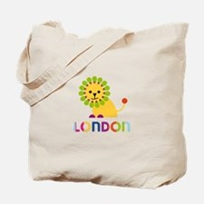 London the Lion Tote Bag