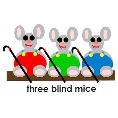 Three Blind Mice Poster