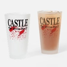 Bloody Write Drinking Glass