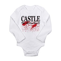 Bloody Write Long Sleeve Infant Bodysuit