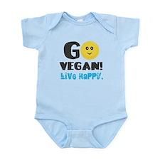 Go Vegan Infant Bodysuit