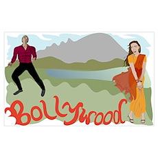 Singing Bollywood Poster