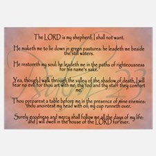 Psalm 23, the Lord is my Shepherd