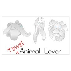 Towel Animal Lover Poster