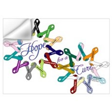 Hope For A Cure Wall Decal