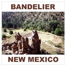 BANDELIER, NEW MEXICO Poster