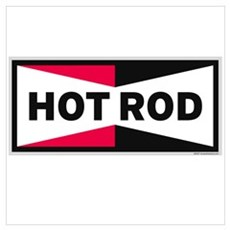 HOT ROD LOGO Poster