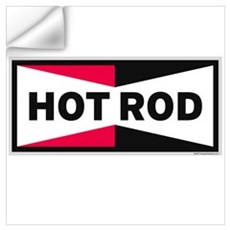 HOT ROD LOGO Wall Decal