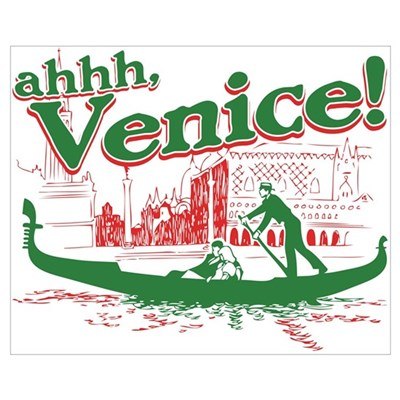 Ahhh... Venice! Canvas Art