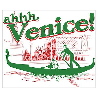 Ahhh... Venice! Poster