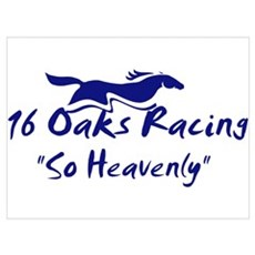 16 Oaks Canvas Art