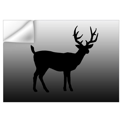 BUCK SILLOUETTE Wall Decal