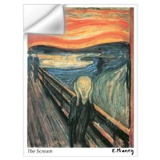 The Scream Wall Decal