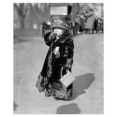 Midget Flapper Girl, 1924 Poster