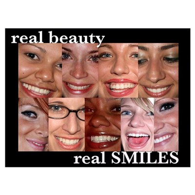 - Real Smiles Canvas Art