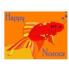 Happy Norooz Cards Poster