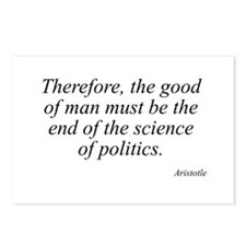 Aristotle quote 96 Postcards (Package of 8)
