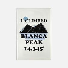 Blanca Peak Rectangle Magnet